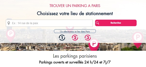 parking public pas cher Paris