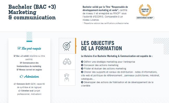 Bac +3 Commerce Rennes