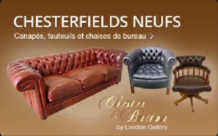 sofa ancien chesterfield