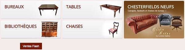 vente de meubles anciens