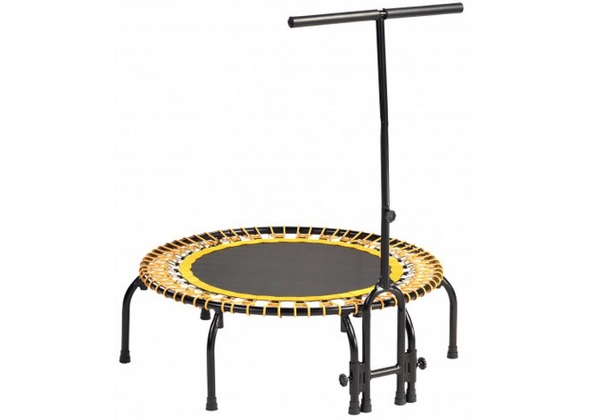 exercices trampoline