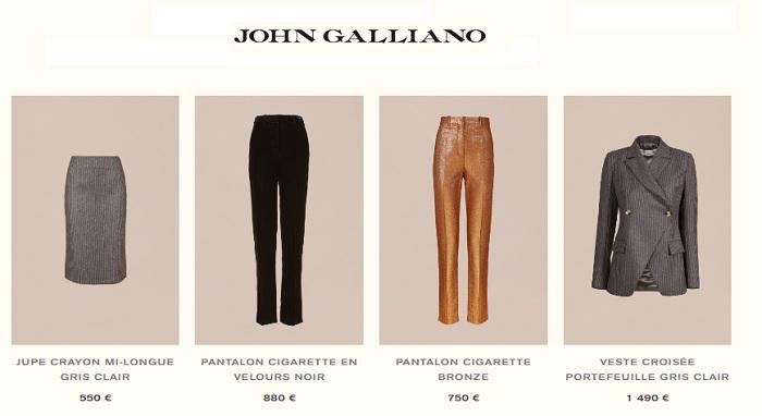 john galliano top