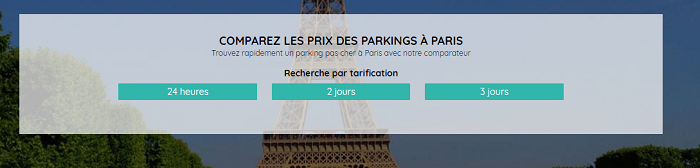 parking paris
