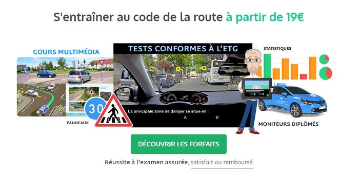 s'entrainer au code de la route en ligne