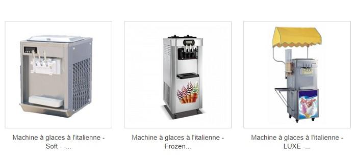 machines à granita